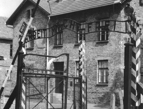 Auschwitz Front Gate