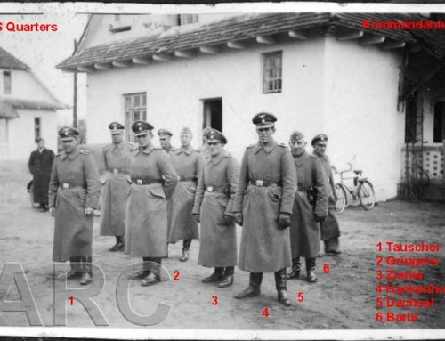 Officers and Non-commissioned Officers at the Belzec Extermination Camp