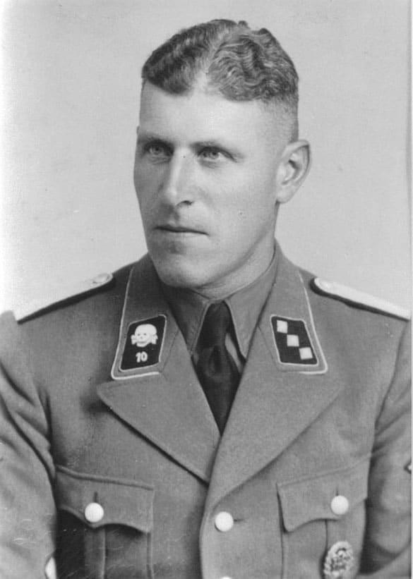 SS-Sturmbannführer Hans Hüttig, Natzweiler, Herzogenbusch, Buchenwald & Flossenbürg
