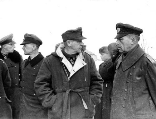 Captured German Generals at Stalingrad