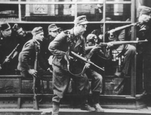 Iconic Photo of Dirlewanger Assault Group