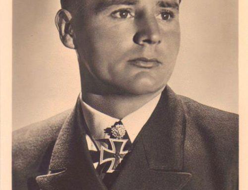 Autographed Photo of Engelbert Endrass, U-46