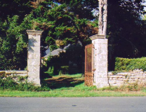 Entrance to James E. Hendricks Execution Site