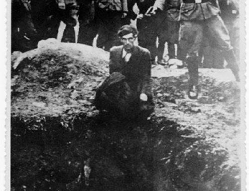 Iconic Photo of Einsatzkommando Shooting