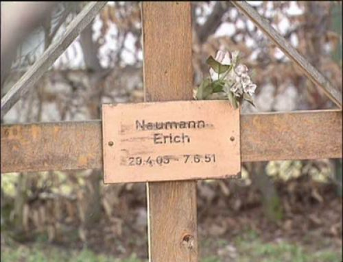Original Grave of Erich Naumann at Landsberg Military Prison