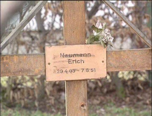 Original Grave of Erich Naumann at Landsberg Military Prison