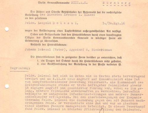 The Hürtegen Forest, 1944 – Getting Interesting Details