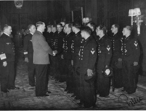Günther Prien and the crew of the U-47