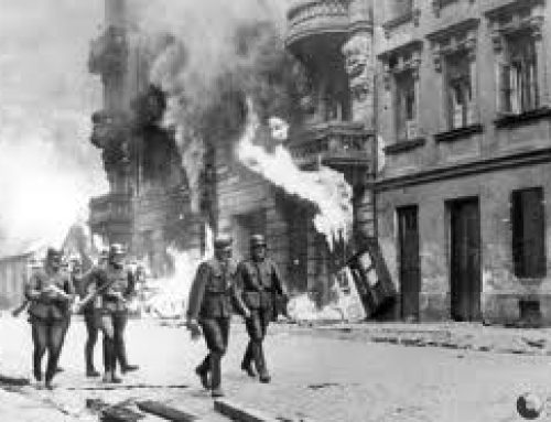 SS Troops in the Warsaw Ghetto