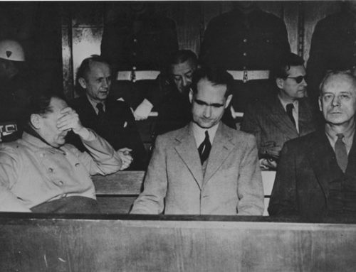 Nazis on trial at Nürnberg