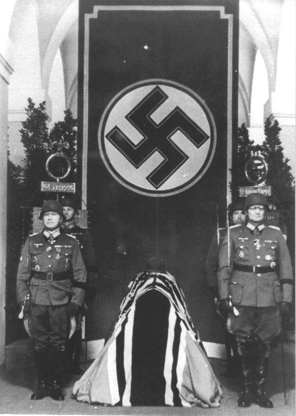 German General Officer Casualties, Eduard Dietle, Munich Nordfriedhof