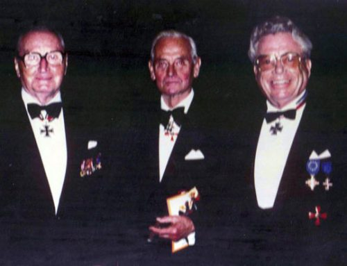 Martin Steglich, Heinz-Georg Lemm and Walther-Peer Fellgiebel