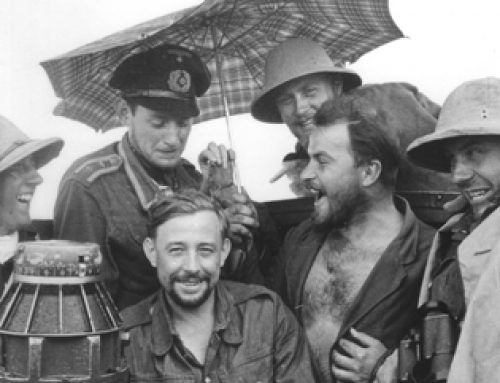 U-boat Crew Crossing the Equator