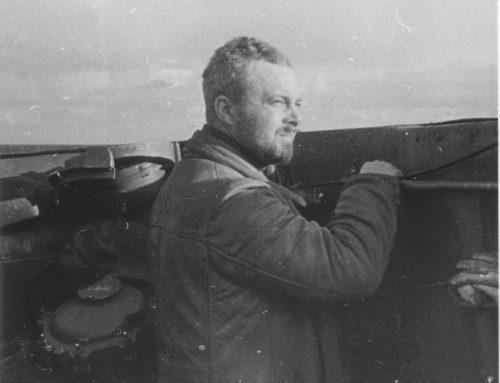 U-boat Navigator Topside Getting Some Fresh Air