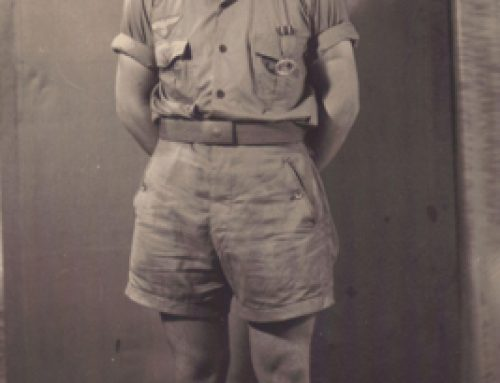 U-331 Sailor in Tropical Uniform