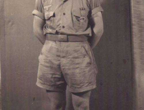U-331 Sailor in Tropical Uniform