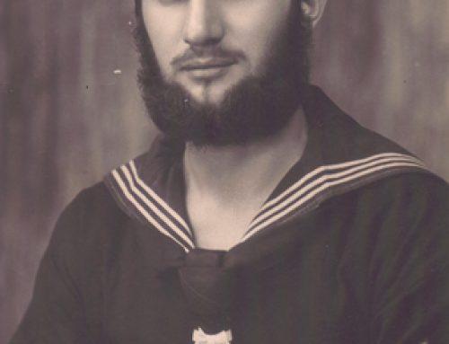 U-boat Sailor After Patrol