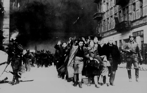 SS at the Warsaw Ghetto