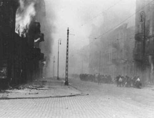 Photo from the Stroop Report of the Jewish Warsaw Ghetto